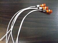 5 BBT 220 volt AC Waterproof Red LED Panel Indicator Lights.