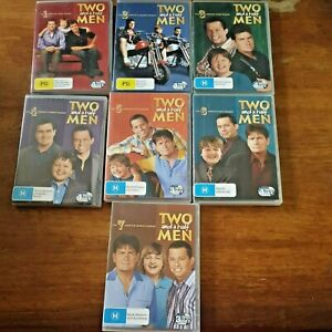 Two and a Half Men DVD Complete Season 1-7 (1234567) R4 VERY GOOD – FREE POST