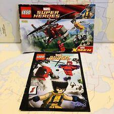 LEGO Marvel Wolverine's Chopper Showdown 6866 Chopper + Instructions + Comic