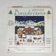 New ListingDimensions Daydreams Cross Stitch Kit Country Holiday Wysocki 72863 Christmas