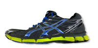 Men's ASICS GT-2000 T2K2N Black/Blue Running Athletic Training Shoes Size 10