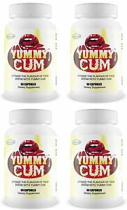 4 YUMMY CUM Sweet Better Tasting Flavour Sperm Semen Taste Man Milk