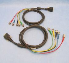 Extron 26-173-02  Rev.G  SY-VGA  6' Cable  VGA, BNC - Lot of 2