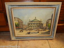 PARIS PLACE DE L'OPERE AUTHENTIC FRENCH IMPRESSIONISM BY CHARLES BLONDIN