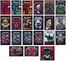 Metallica patch DIY printed textile band patches rock speed heavy thrash metal