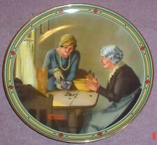 Knowles American Fine China A FAMILY'S FULL MEASURE By Norman Rockwell
