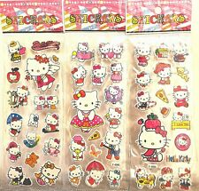 Hello Kitty Stickers Vinyl Bag Birthday Party Stickers 10 sheets