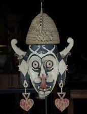 Hudoq Dayak Mask - Kalimantan Borneo, Indonesia (Hudog) #white