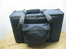 "Golden Gate 3U Rack Bag 12"" deep w/carry handle and storage pocket"