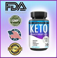 Keto BURN Diet Pills Fast Ketosis Weight Loss Supplements, Boost Energy Focus