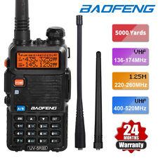 BAOFENG UV-5R III Tri-Band VHF/UHF Walkie Talkie Long Range Two Way Ham Radio