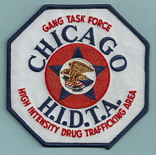 DEA FBI CHICAGO HIDTA NARCOTICS GANG TASK FORCE POLICE PATCH
