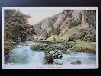 Derbyshire: Tissington Spires, Dovedale c1906 Postcard
