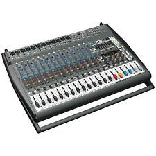 BEHRINGER PMP6000 EUROPOWER 20-Channel Powered Mixer + Full Warranty