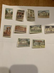 Dutch Suriname Stamps