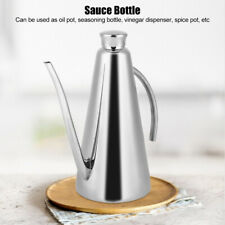 Olive Oil And Vinegar Stainless Steel Bottle Can Kitchen Cooking Pot Tools 850ml