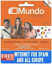 Tarjeta SIM/Micro/Nano de Prepago ORANGE MUNDO 5€. ROAMING EUROPA INLCUIDO!!