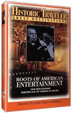 Roots of American Entertainment, Historic Traveler Great Destinations DVD 2007 R