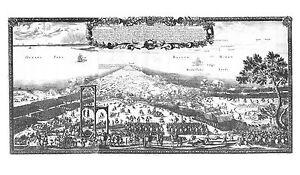 Antique map, Expugnationis nupei exltruciti oppidi et munimenti Fredericiudde