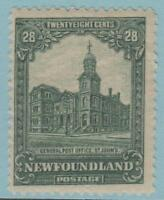 NEWFOUNDLAND 158 MINT HINGED OG * NO FAULTS EXCELLENT !