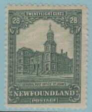 NEWFOUNDLAND 158 MINT HINGED OG * NO FAULTS EXCELLENT !