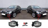 FOR MERCEDES-BENZ E-CLASS W211 02-06 NEW FRONT BUMPER FOGLIGHT LAMP PAIR SET L&R