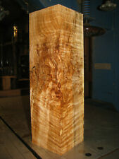 FIGURED WESTERN BIG LEAF MAPLE WOOD TURNING LUMBER 4 x 4 x 14 VASE BLANK