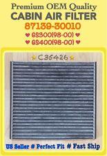 GS300 & GS400 (98-00) Premium OEM Quality CARBONIZED Cabin Air Filter C35426