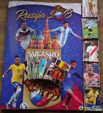 WORLD CUP 2018 RUSSIA School shop ALBUM + 250 different stickers