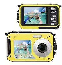 Waterproof Camera Underwater Camera Screen Action