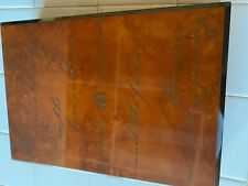 Narcotics Anonymous NEW/SEALED LIMITED EDITION LIVING CLEAN WITH NA WOODEN CASE