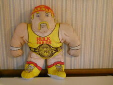 "24"" Hulk Hogan WWF Wrestling Buddies plush stuffed vintage Tonka         C8"