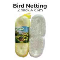 Anti Bird Netting Garden Gardening Net Mesh Fruit Veg Pond Protect Cover 2pack