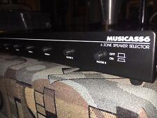 Musica SS6 speaker switcher!