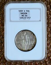 1939 S 50c MS66 Oregon