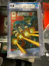 BLOODSHOT 0 CGC 9.8 3/94 APP OF ETERNAL WARRIOR CHROMIUM WRAP AROUND COVER