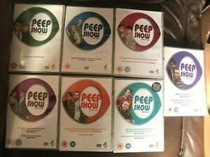 Peep Show DVDs Series 1 2 3 4 5 6 & 7
