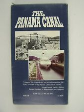 The Panama Canal VHS Video