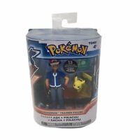 Tomy Pokemon XY Trainer Figure Ash & Pikachu 2015 New In Open Box