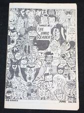 1973 June The Comic Reader Fanzine #98 Foom Heroes Cover FN