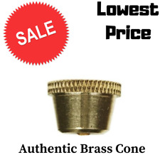 Authentic Brass cone pieces, Cone, ON SALE NOW - LOWEST PRICE