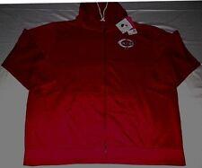 Cincinnati Reds Full Zip Hoodie Ladies 1XL Red Distressed Womens Majestic MLB