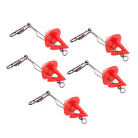 5x Wide Range Clip Extractor Bait Quick Release Hook Shield for Sea Fishing