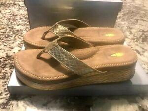 Volatile Daniella Light Gold Sandal Size 8
