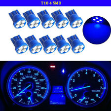 10pcs T10 W5W 194 2825 4SMD LED Wedge Dashboard Gauge Cluster Light Bulb Yellow
