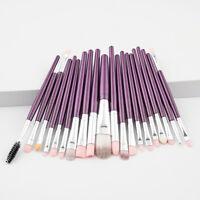 20 x Pro Makeup Brushes Set Foundation Powder Eyeshadow Eyeliner Lip Brush Tool