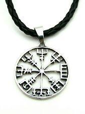 Eagershelm Isländisch Aegishjalmur Elhaz Rune Anhänger Amulett Talisman BK5910