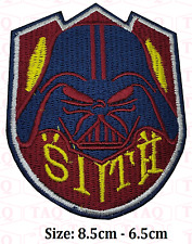 """STAR WARS """"SITH"""" Lord Darth Vader - Embroidered Iron-On Patch"""