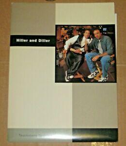 "RICHARD LEWIS, KEVIN NEALON & EUGENE LEVY ""HILLER AND DILLER"" PRESS KIT W/PHOTOS"
