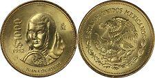 Mexico 1,000 Pesos, 15.17g, Aluminium-Bronze 1992, KM-536, UNC, Juana De Asbaje
